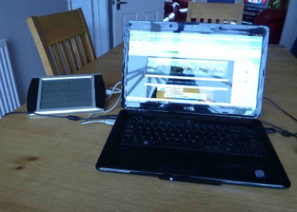 WH - 1080 into Dell Inspiron 1545